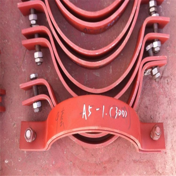 志昂 管道支吊架管夹 厂家直销 重型双螺栓管夹