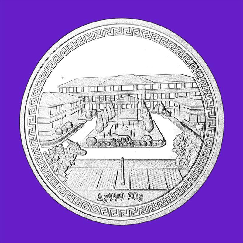 纯银戒指 纯银币定制 纯银礼品 纯银币定制厂家 纯银价格 深康珠宝