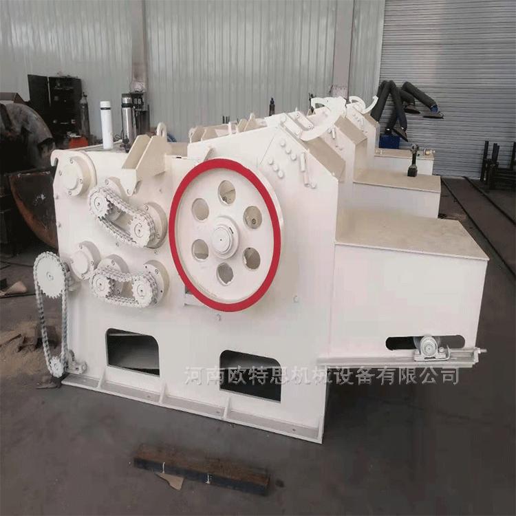 树根鼓式削片机生产厂家 欧特思 毛竹削片机 鼓式树枝削片机