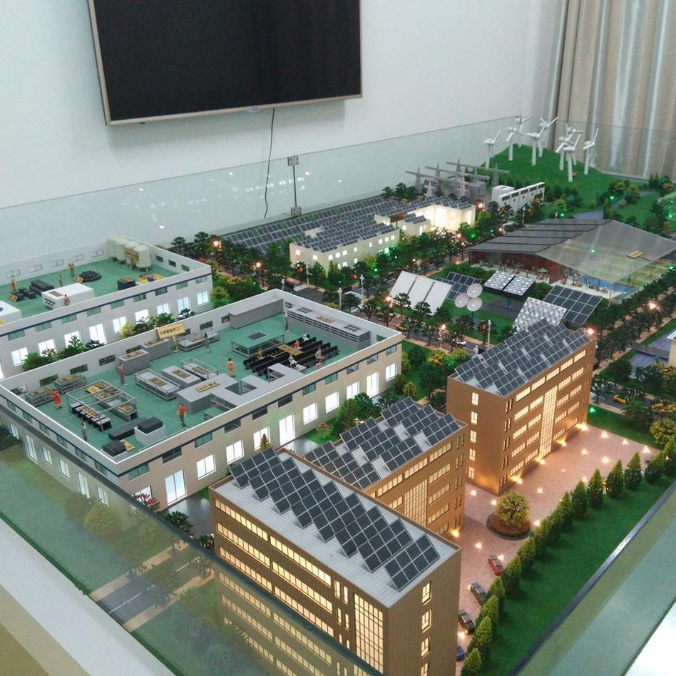 光伏电模型 机电工业设计 广雅模型定制沙盘