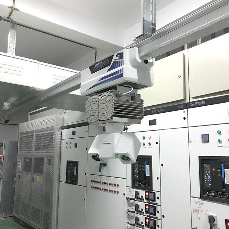 轨道监控巡检机器人变电站监控轨道机器人厂家