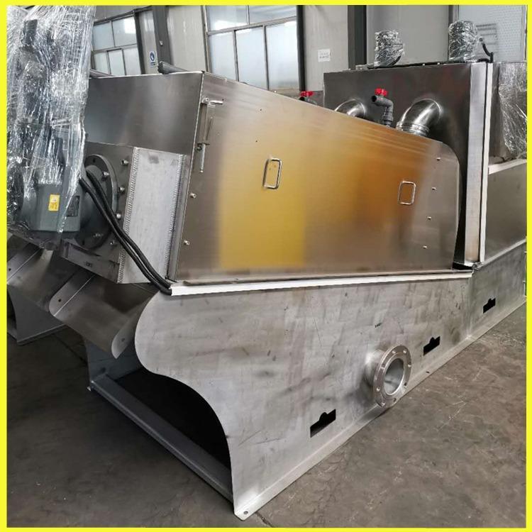 301叠螺压滤机 处理5方淤泥的叠螺压滤机操作简单 中宏博远