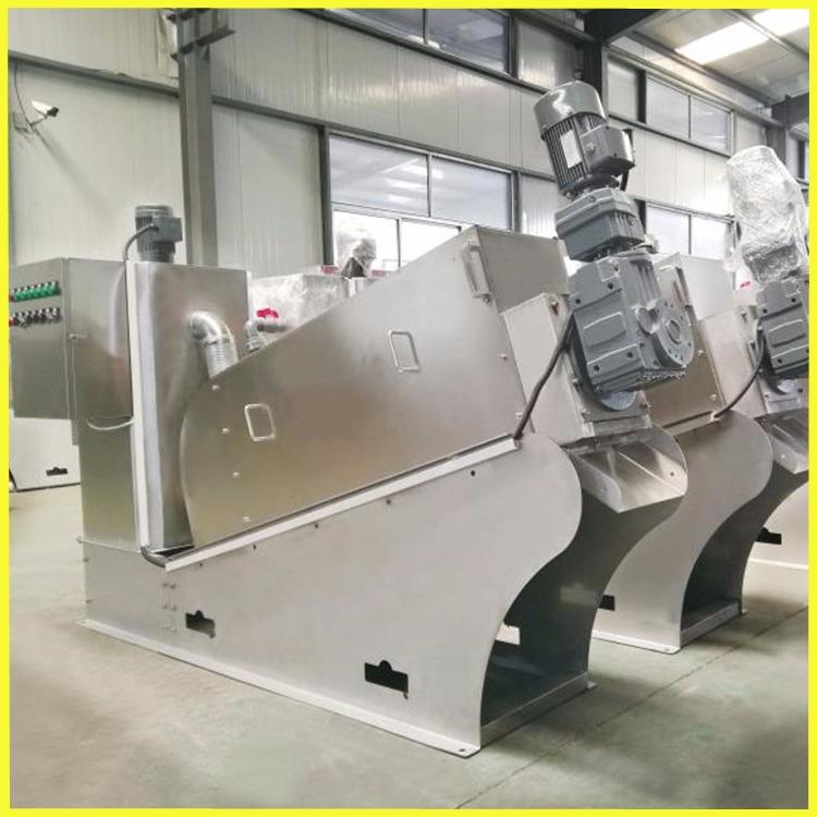 202型叠螺脱水机 全自动叠螺式污泥浓缩一体设备 叠螺污泥脱水设备 锐腾环保