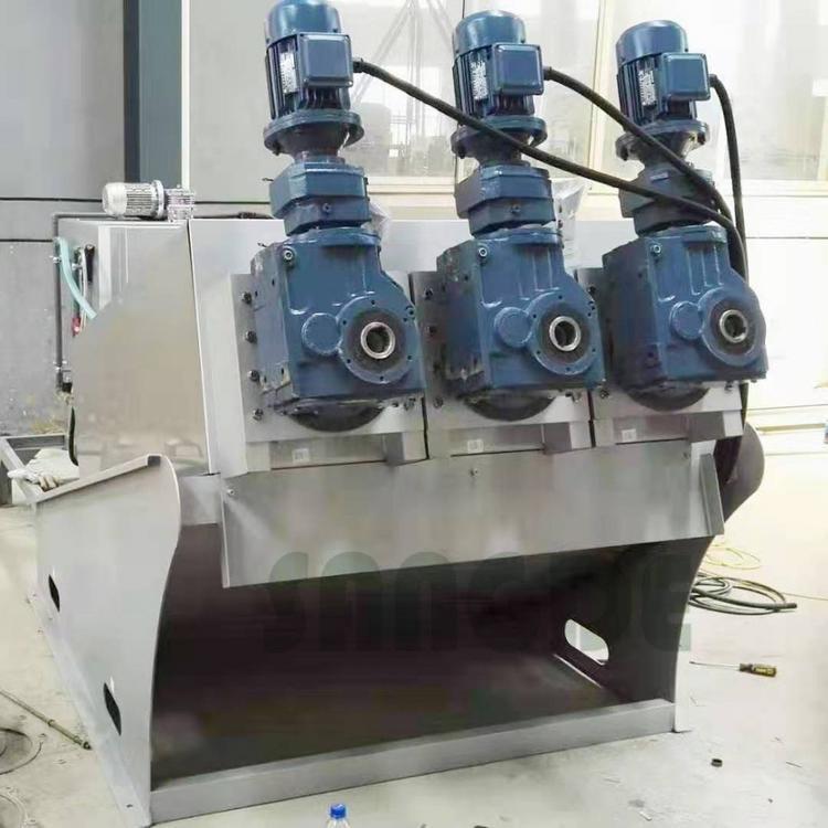 加工自动叠螺压滤机 造纸皮革行业用叠螺式污泥脱水机353 脱水率高