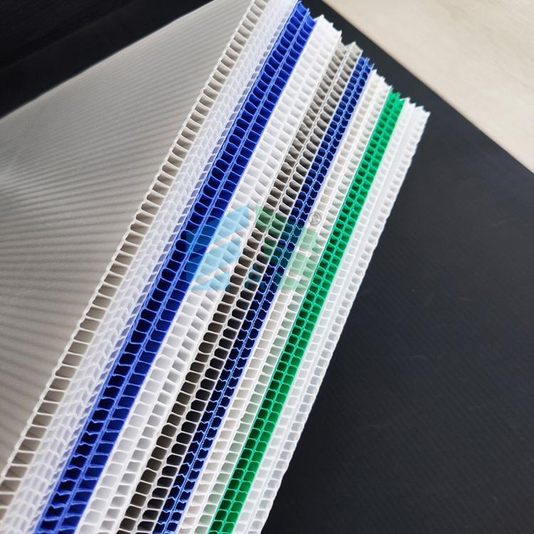 科磊长期供应猪舍专用中空板阻燃板 塑料中空板 PP塑料阻燃板