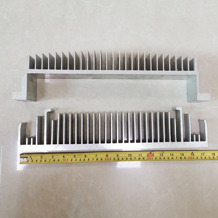 炘洋工业铝材氧化 铝型材散热器 显卡散热器氧化切割
