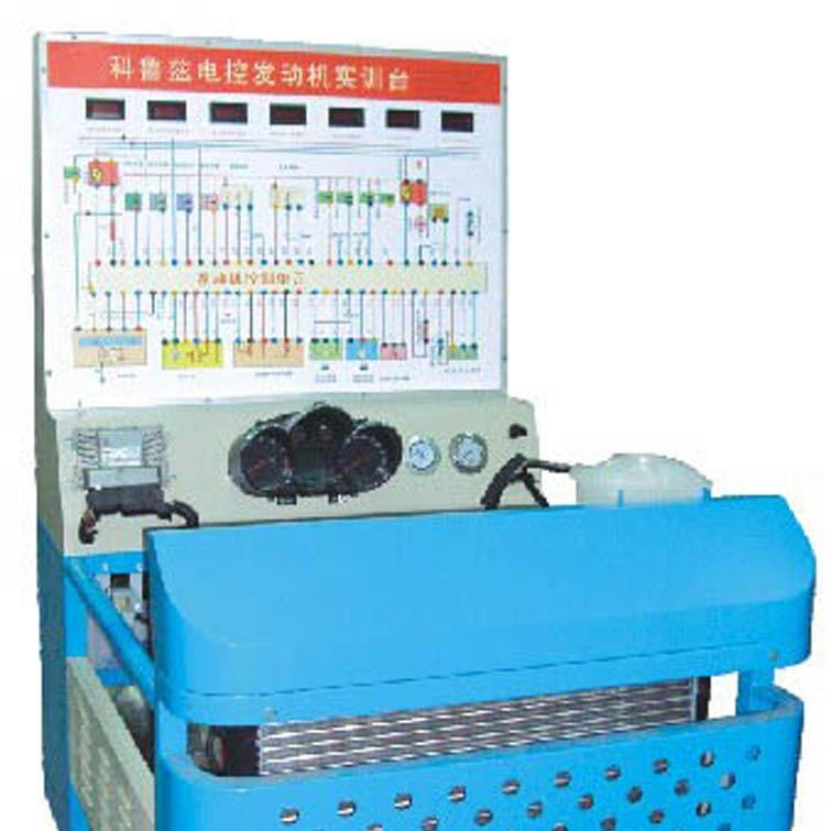 电控汽油发动机实验台 腾育电控汽油发动机实训台 汽油发动机教学实验台
