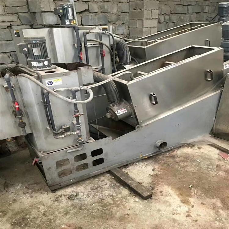 市政污泥压滤机 工业污泥脱水机 滤带式污泥脱水压滤机
