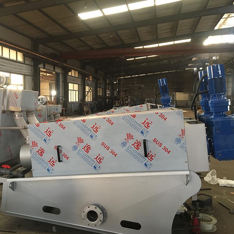 精勇生产供应 叠螺式污泥脱水机 叠螺机 叠螺污泥脱水机