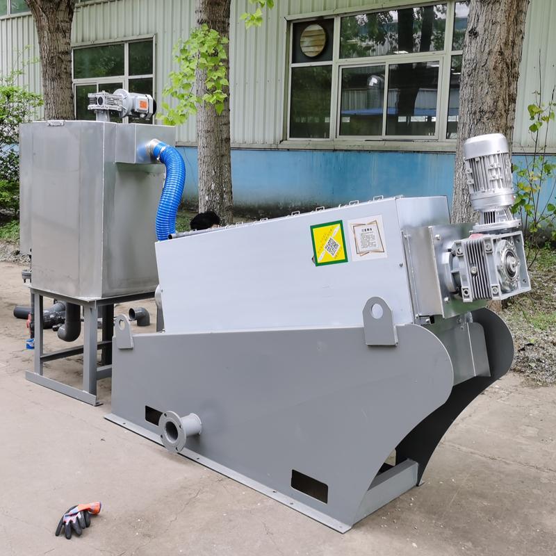 油墨污泥处理设备叠螺脱水机 201型叠螺式污泥脱水机厂家直供