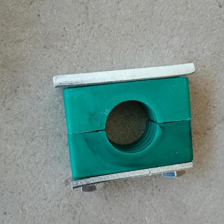 德明 管夹 塑料管夹 重型管夹 重型单孔塑料管夹