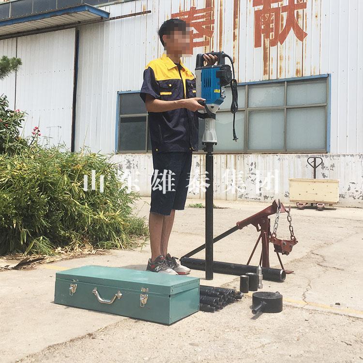 雄泰BZ-30D土壤采样器取样 小型电动取土钻机 考古岩层工程勘察机批发