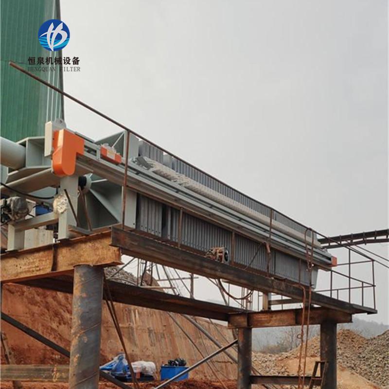 洗煤厂压滤机 沙场泥浆用板框压滤机 恒泉洗砂压滤机