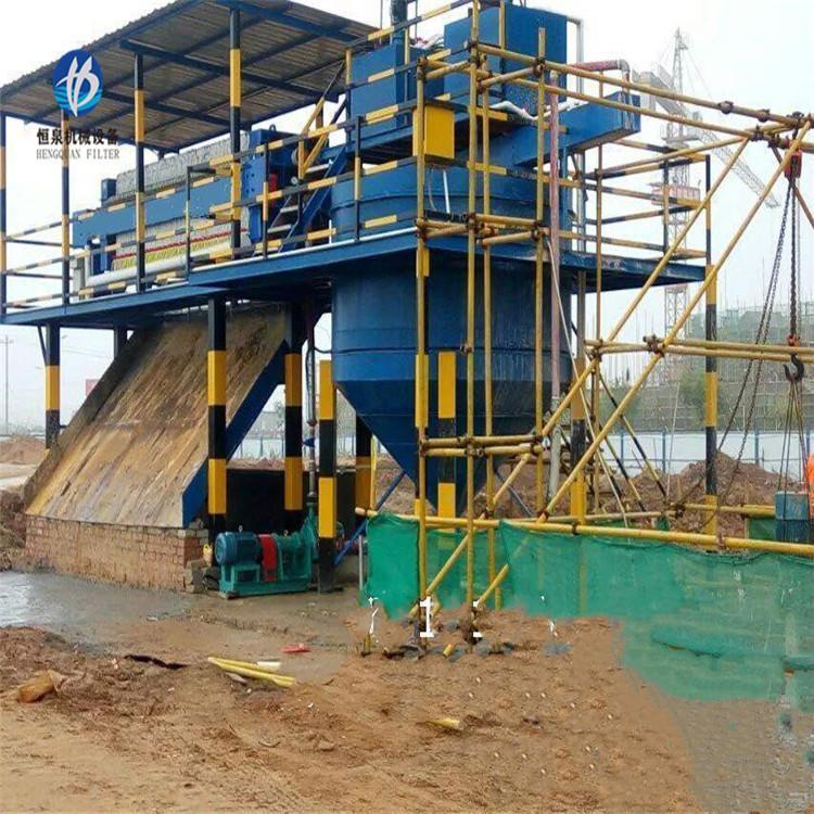 污泥脱水压滤机价格 洗沙场泥浆压滤机 实验室压滤机生产厂家 恒泉