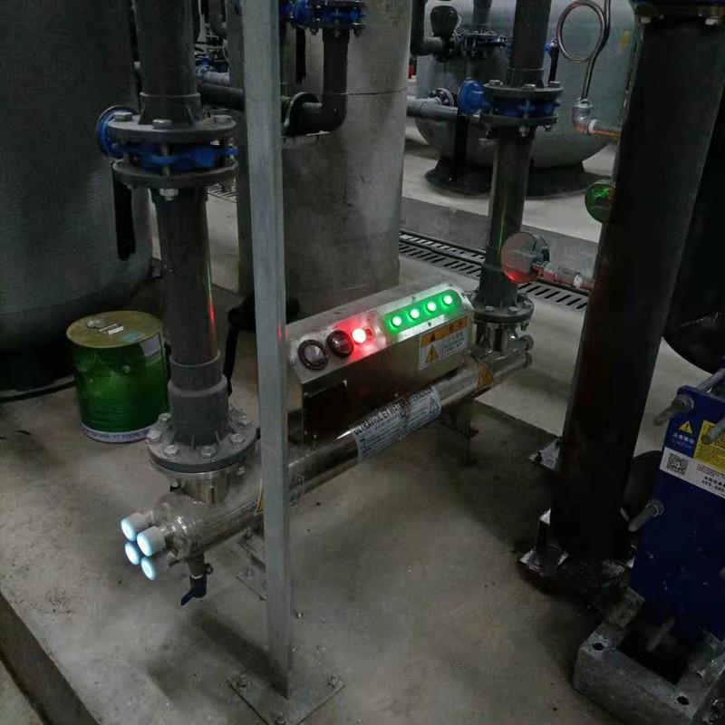 山东过流式紫外线消毒器冀陆诚牌uvc150-10型 紫外线消毒器生产厂家 紫外线水质消毒器厂家