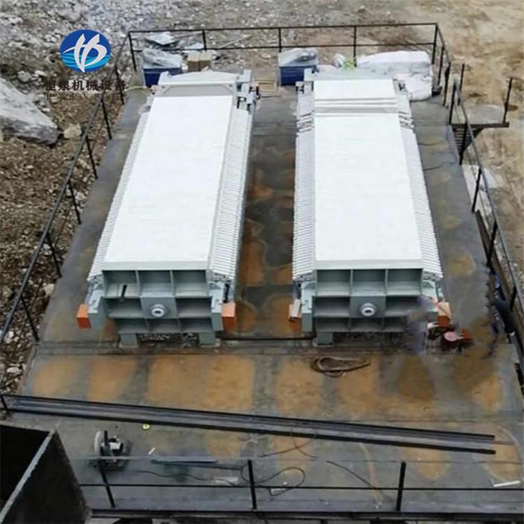 全自动压滤机 污泥脱水压滤机价格 恒泉 板式液压压滤机厂家 操作方便