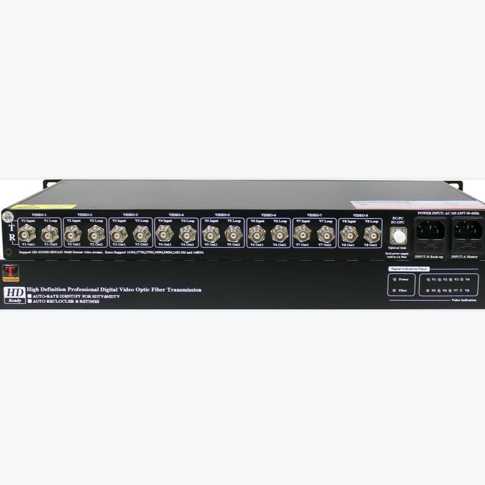 诚谊科技 音视频光端机4K/高清光端机 音视频传输,广播电视