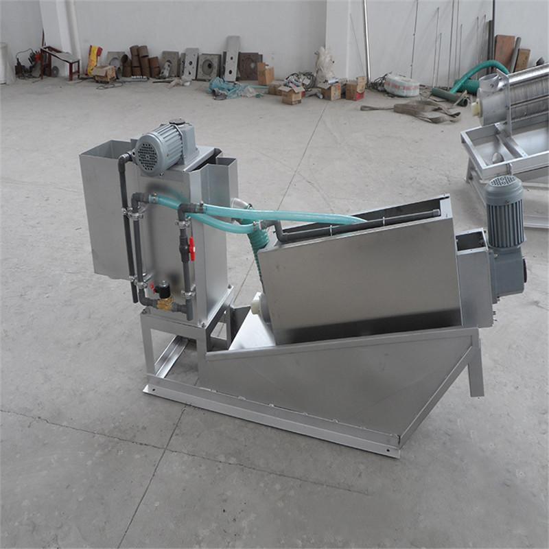 叠螺式污泥脱水机 叠螺压滤机DLT301型如克厂家