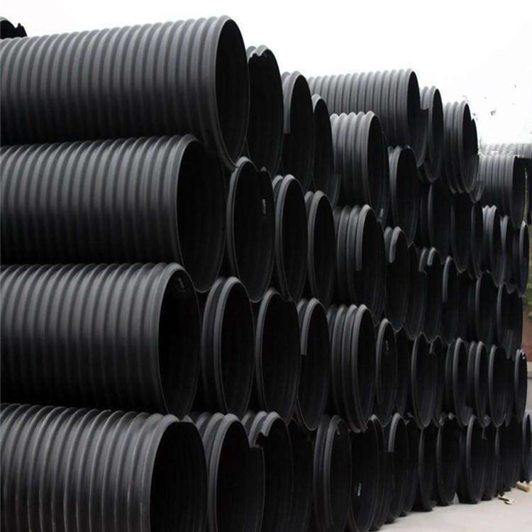 承德钢带管批发销售-旺润管道-PE管-PE排水管-PE排污管