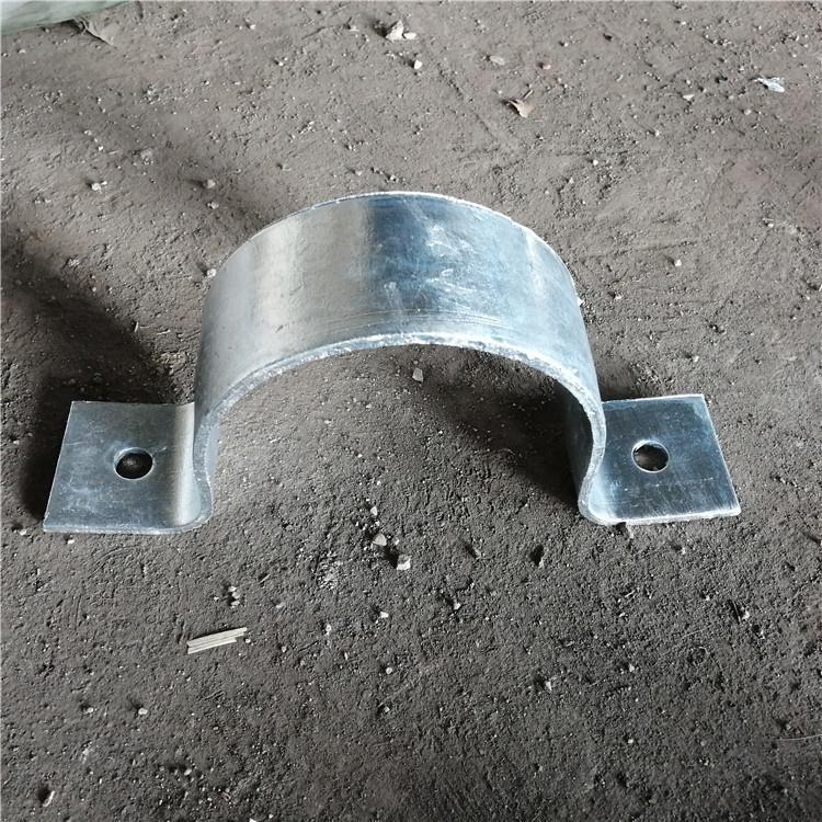 双螺栓管夹 A6重型双螺栓管夹 实体厂家 龙志管道