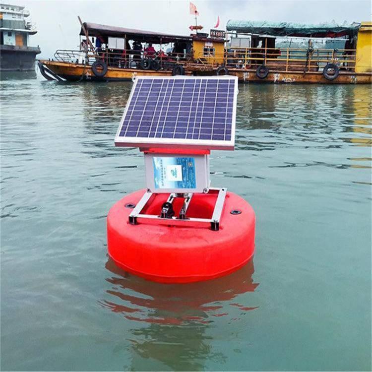 湖南浮标监测站 水质浮标在线监测系统 水质常规五参数监测仪器 水质浮标在线监测微站 中农智造2221