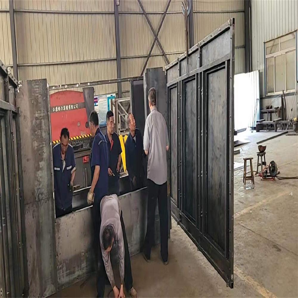 華明供應火電廠導料槽 雙密封導料槽 定做防溢裙板導料槽