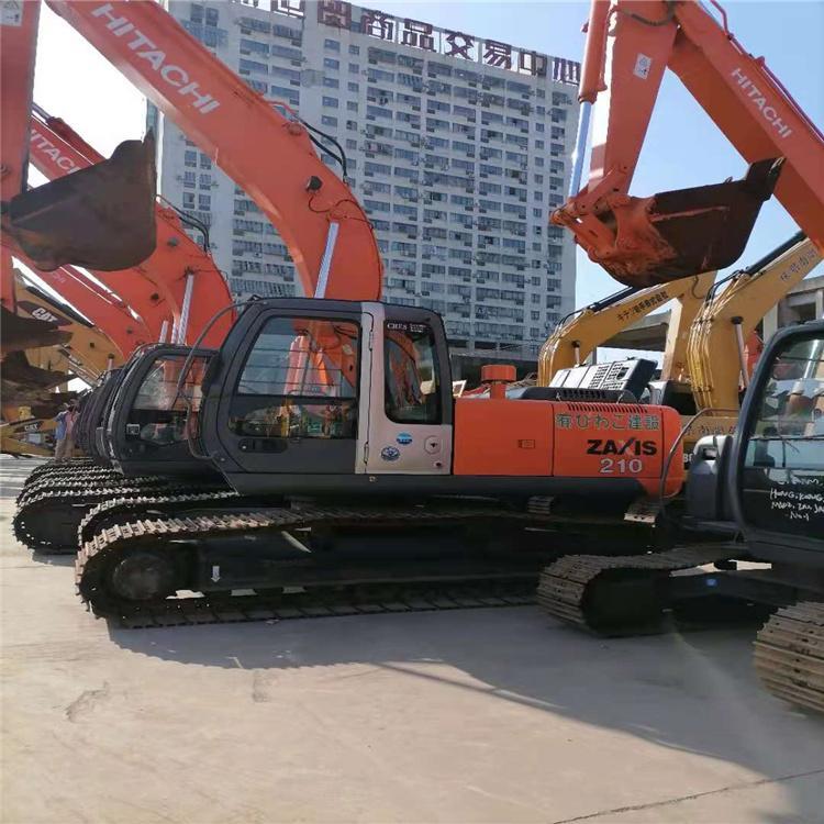 益阳日立二手挖机 日立200型挖机 市场发货快