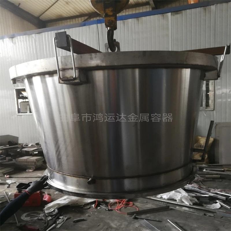 曲阜大型酿酒设备 1吨不锈钢酿酒蒸锅 酒厂固态酿酒设备 鸿运达