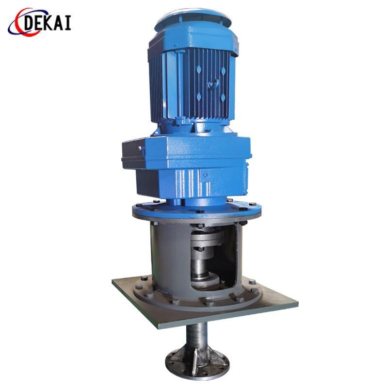 不銹鋼攪拌器德州污水攪拌設備立式攪拌裝置定制化工攪拌設備 德凱 渦輪攪拌產品