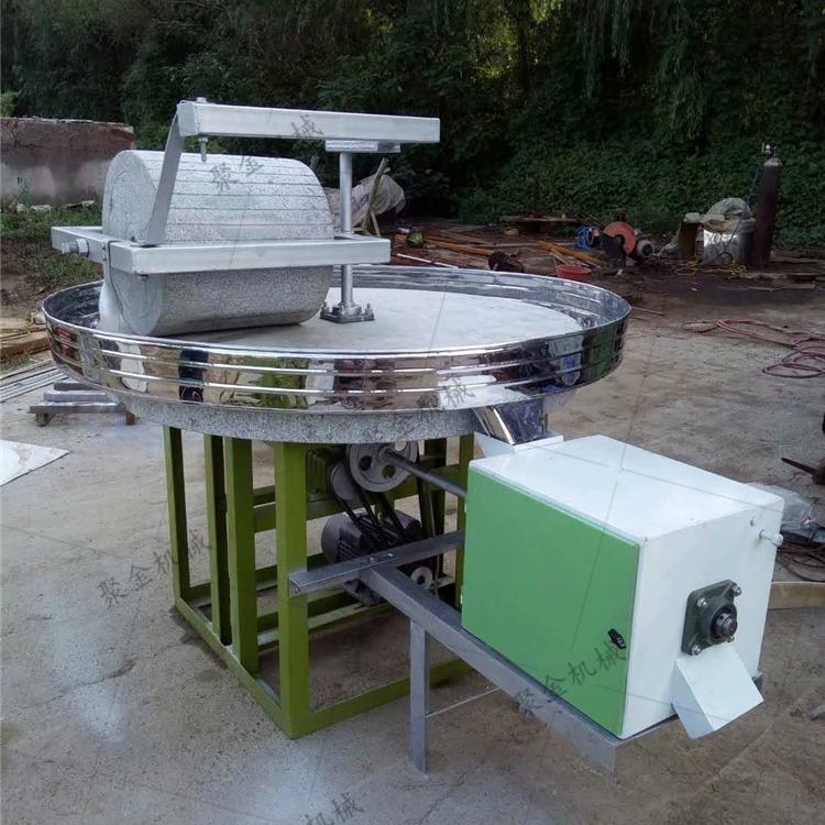 久鼎磨辣椒芝麻盐专用石磨机 做豆浆豆腐石磨