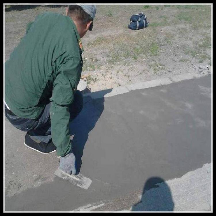 淮安混凝土路面修補料 起砂起皮薄層修補