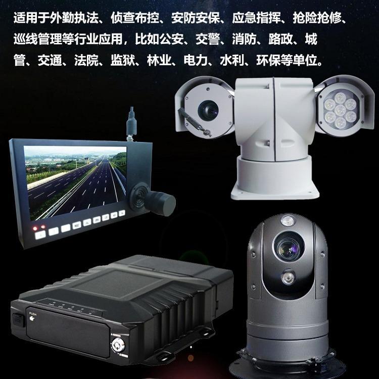 海昱视车载云台摄像机TV-153G智能红外网络云台高速球机1080P高清车载云台摄像机生产厂家