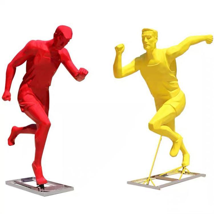 雕塑运动 运动雕塑墙 体育运动雕塑制作 公园运动系雕塑 怪工匠