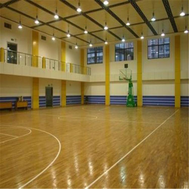 明都体育 运动木地板 双拼运动木地板 翻新价格