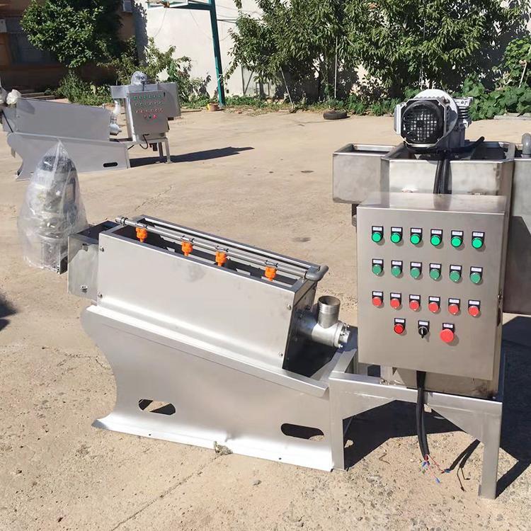 精勇叠螺机 叠螺机价格优惠 202型叠螺式污泥脱水机 诸城叠螺机生产厂家