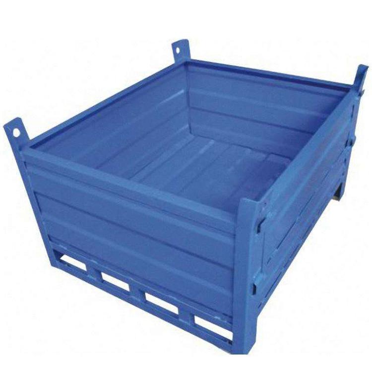 七星 供应 南京塑胶折叠箱 全新塑料折叠胶框 折叠收缩空间