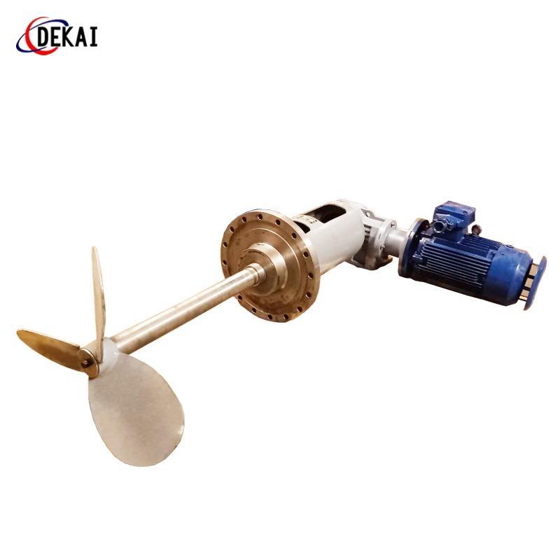 德凱電廠脫硫攪拌器旋轉攪拌裝置應用 德凱攪拌器 攪拌設備加工銷售