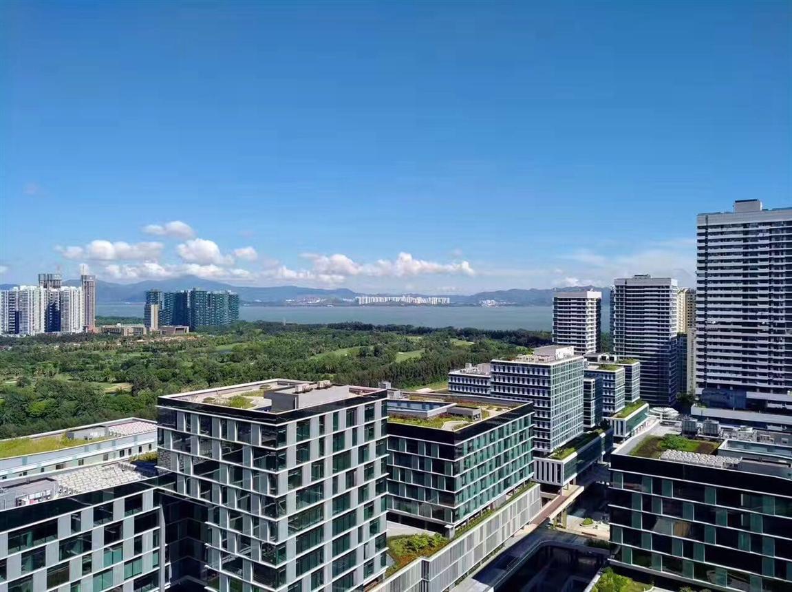 地铁口深圳湾科技生态园电话 面积大小都有