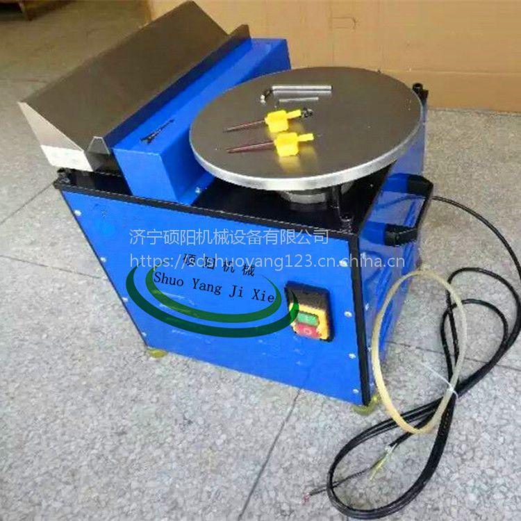 硕阳机械生产GD-900台式高速复合倒角机