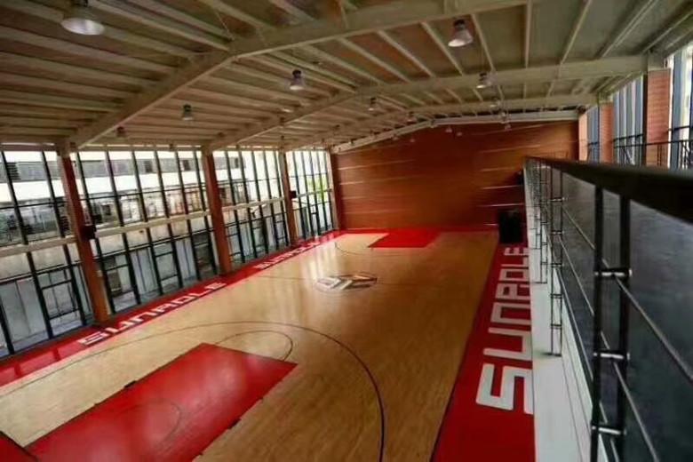 德阳羽毛球硬木运动木地板 硬木体育木地板 可根据客户要求定制