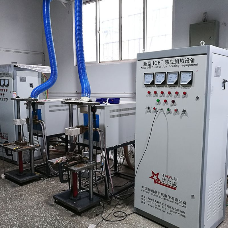 IGBT中频炉专业生产 华尔威 毛坯热锻IGBT中频炉感应加热