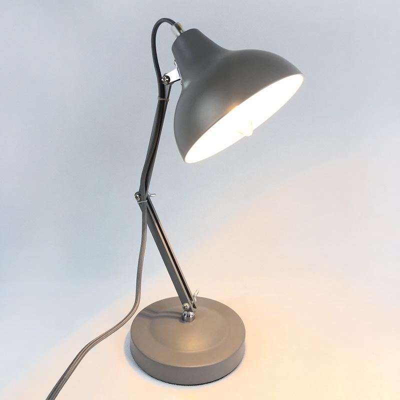 长臂折叠伸缩桌灯 LED工作护眼台灯学习办公宿舍卧室桌灯厂家加工