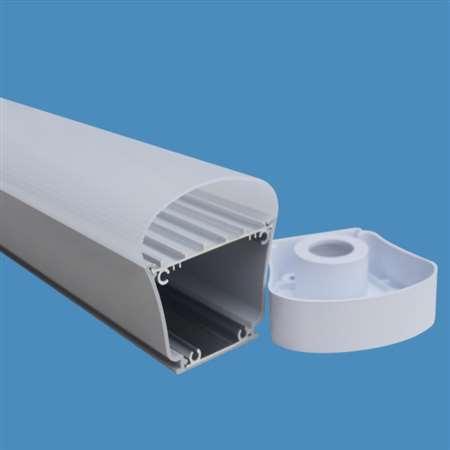 IP65三防灯外壳套件 LED外壳配件 铝塑三防灯套件厂家定制