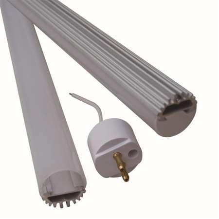 T5灯管外壳  PC套件  日光灯套件   厂家定制