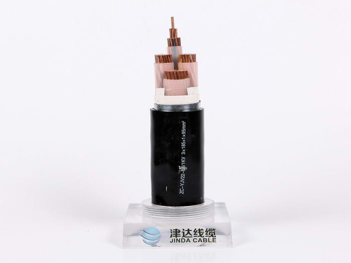 8.7/15KV高压电缆YJV22 3*95 天津津达线缆集团 辽宁生产基地 国标全项包检测