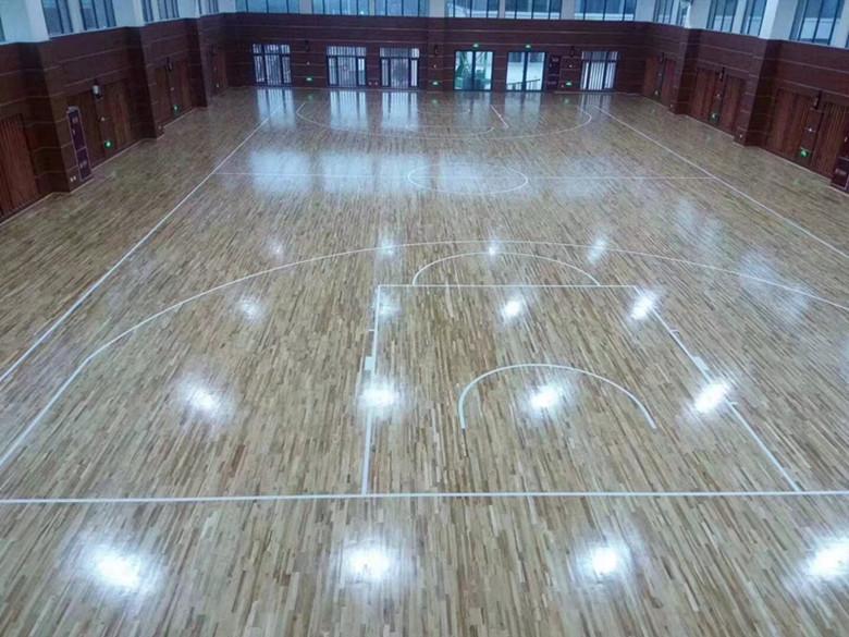 菏泽硬木运动木地板 硬木羽毛球木地板 防虫防蛀 绿色环保