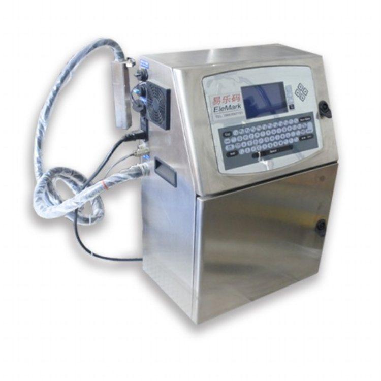 地暖管喷码机 易乐码 饮料喷码机报价 饮料喷码机
