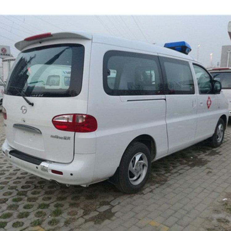 金杯经典海狮高顶救护车价格 救护车销售 豫康辉