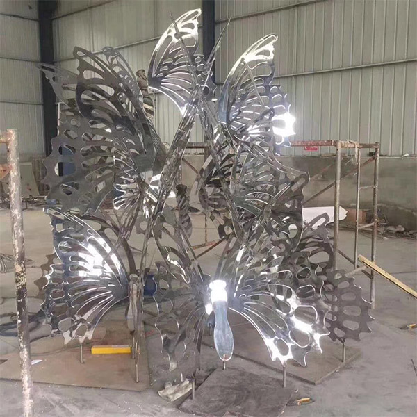 校园不锈钢造型安装 学校不锈钢造型制作公司 龙泰雕塑