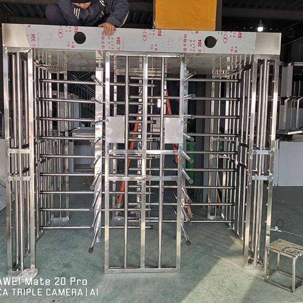 不锈钢全高转闸定做 芯泽/coreze 车站全高转闸施工安装